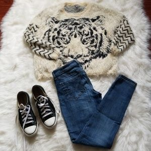 Charlotte Russe Sweaters - Soft Oversized Furry Sweater